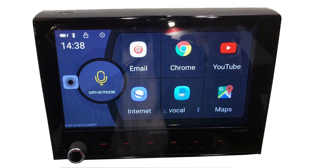 En avant première, Xzent nous présente un autoradio 8 pouces Android Link pour le Fiat Ducato