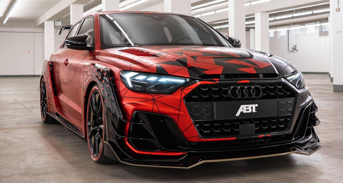 Audi A1 1of1 par ABT : 400 ch pour le 2.0 turbo !