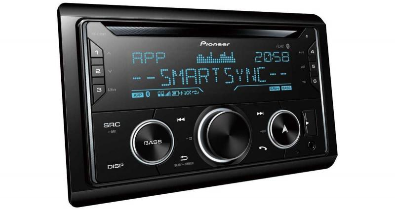 Un nouvel autoradio CD 2 DIN à prix attractif chez Pioneer