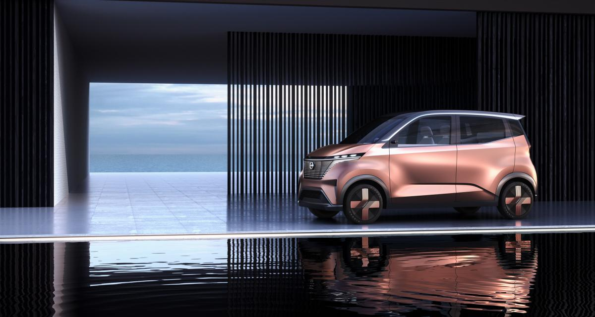 """Concept Nissan IMk : la """"kei car"""" passe à l'électrique"""