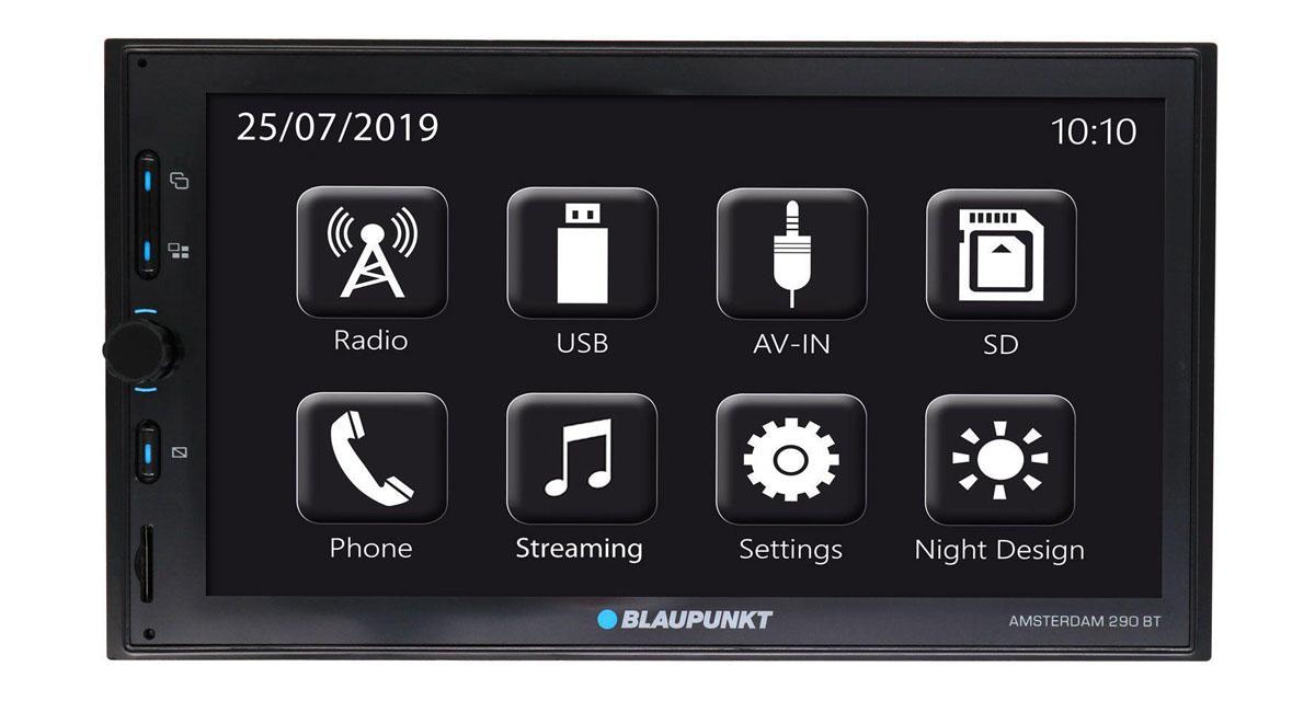 Blaupunkt dévoile un nouveau autoradio 2 DIN MirrorLink à prix canon