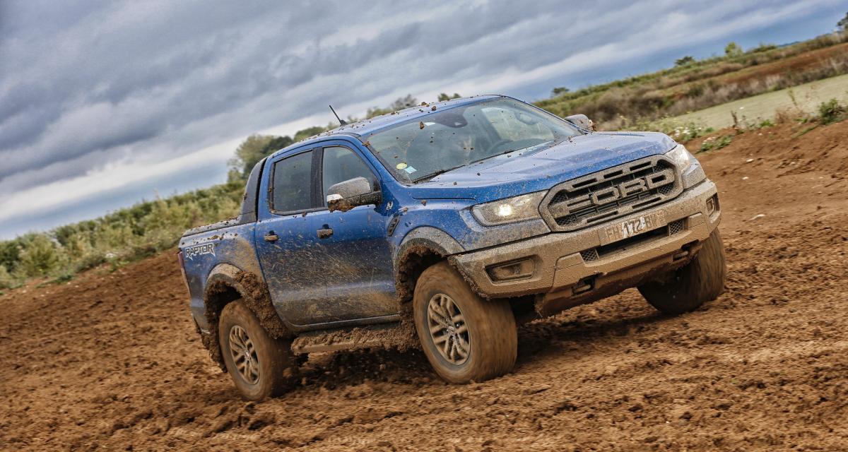 Ford Ranger Raptor : toutes les photos de notre virée off-road avec le pick-up américain
