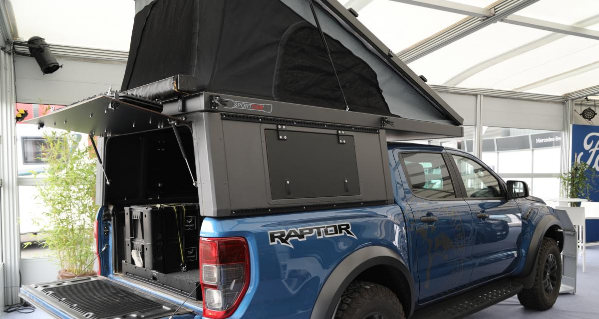 Ford Ranger Raptor Double Cabine : le pick-up Globe Camper tout-terrain