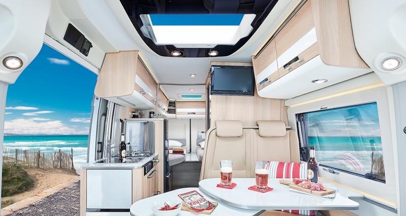 Camping-car : Campérêve Magellan 746 Limited, le fourgon aménagé en vidéo