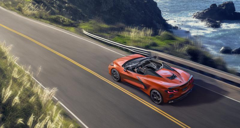 Corvette cabriolet 2020 : le nouveau modèle à toit escamotable