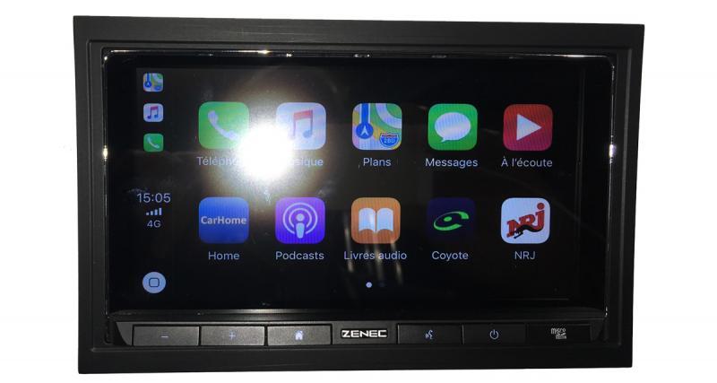 Zenec nous présente en avant-première son autoradio CarPlay Z-N528