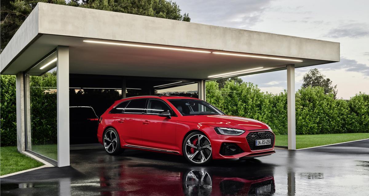 Nouvelle Audi RS4 Avant : lifting de mi-carrière pour le break allemand