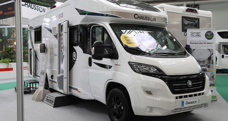Chausson 778 : le camping-car magique en 3 points