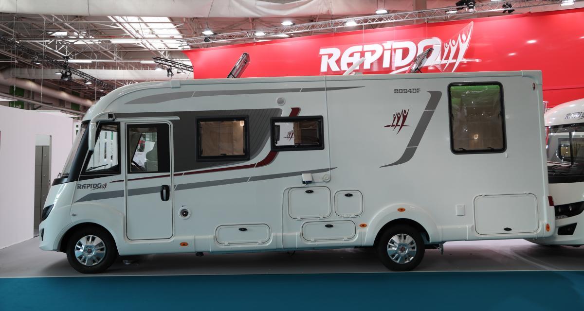 Camping-car Rapido 8094 dF : le salon roulant en 3 points