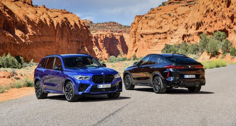 BMW X5 et X6 M Compétition : les SUV haut de gamme en 5 points