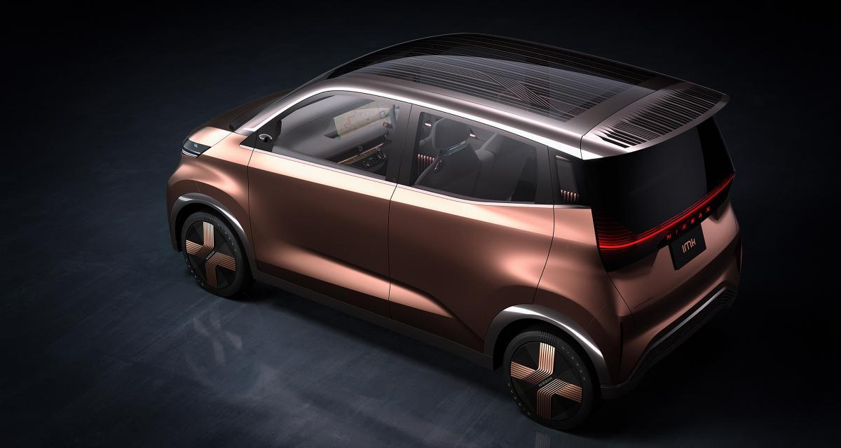 Nissan IMk : le concept japonais en 3 points