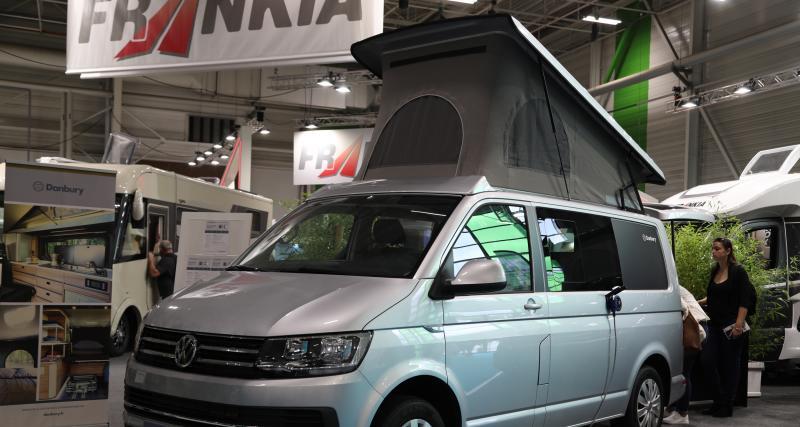 Camping car Danbury Surf Double : jamais sans son toit