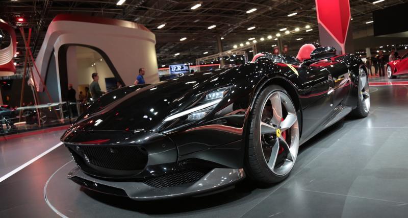 Zlatan Ibrahimovic: 1,6 million d'euros pour sa Ferrari Monza SP2