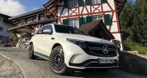 Essai du Mercedes EQC : nos impressions à bord du SUV 100% électrique