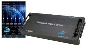 Un ampli 5 canaux avec DSP et Bluetooth chez Power Acoustik