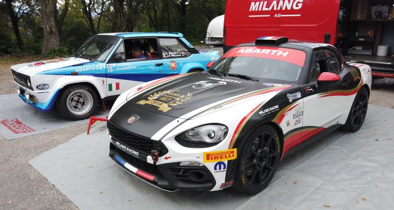 Road trip à l'italienne en Abarth 124 GT, R-GT et 131 Groupe 4