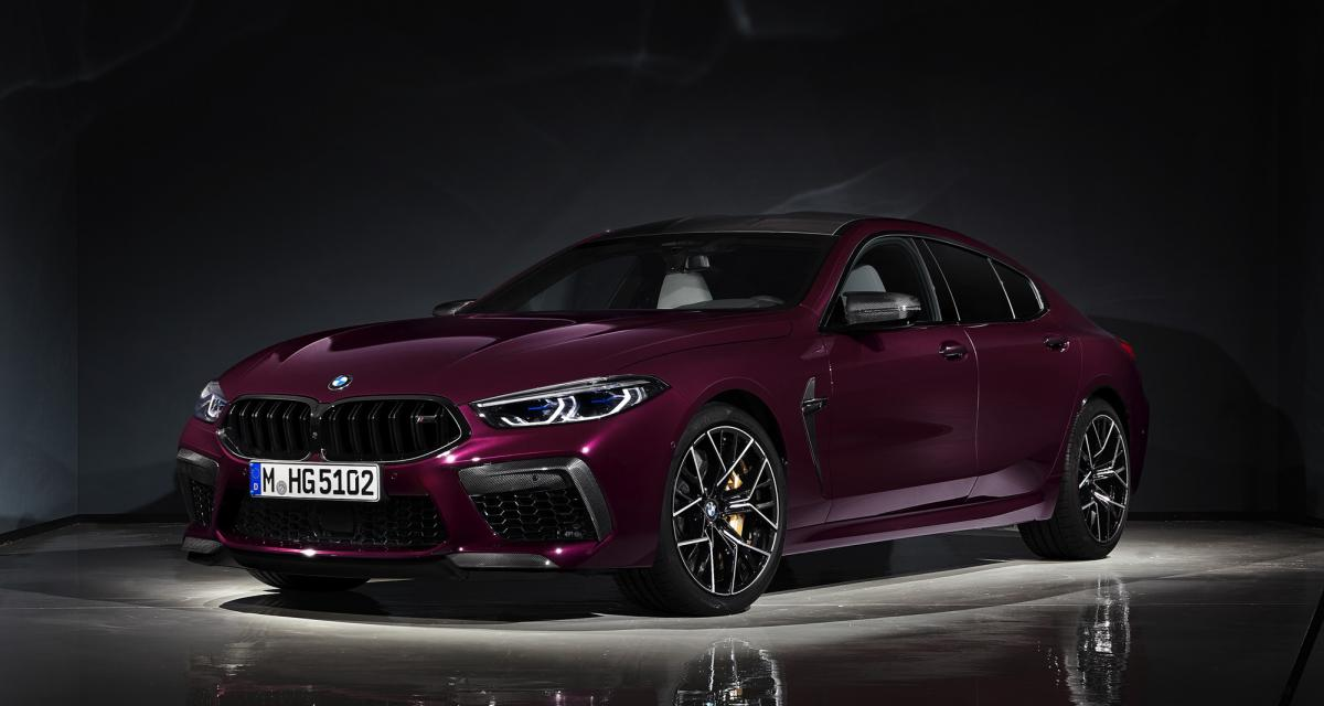 BMW M8 Competition Gran Coupé : du sport, beaucoup de sport