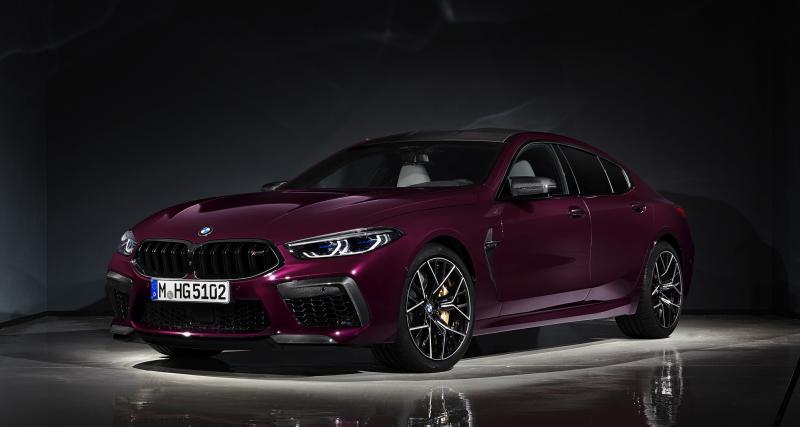 BMW M8 Competition Gran Coupé : du sport, beaucoup de sport