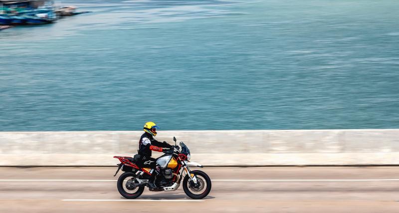 Un motard se fait flasher à 217 km/h sur une départementale