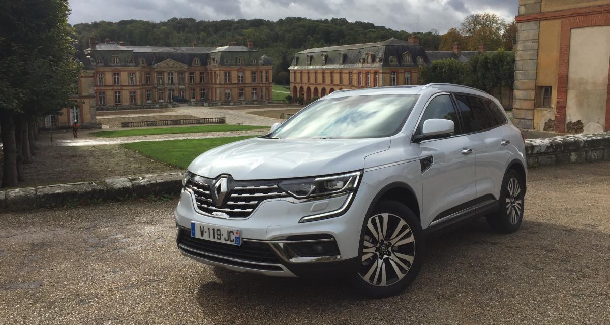 Renault Koleos restylé : nos photos de l'essai du grand SUV français