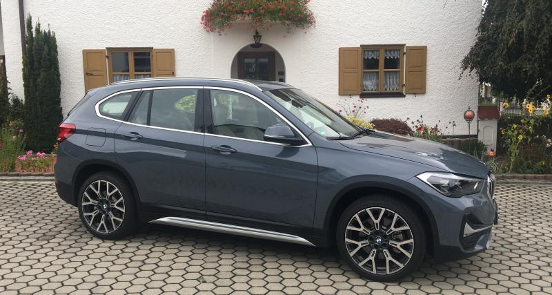 BMW X1 restylé : nos photos de l'essai du SUV best-seller