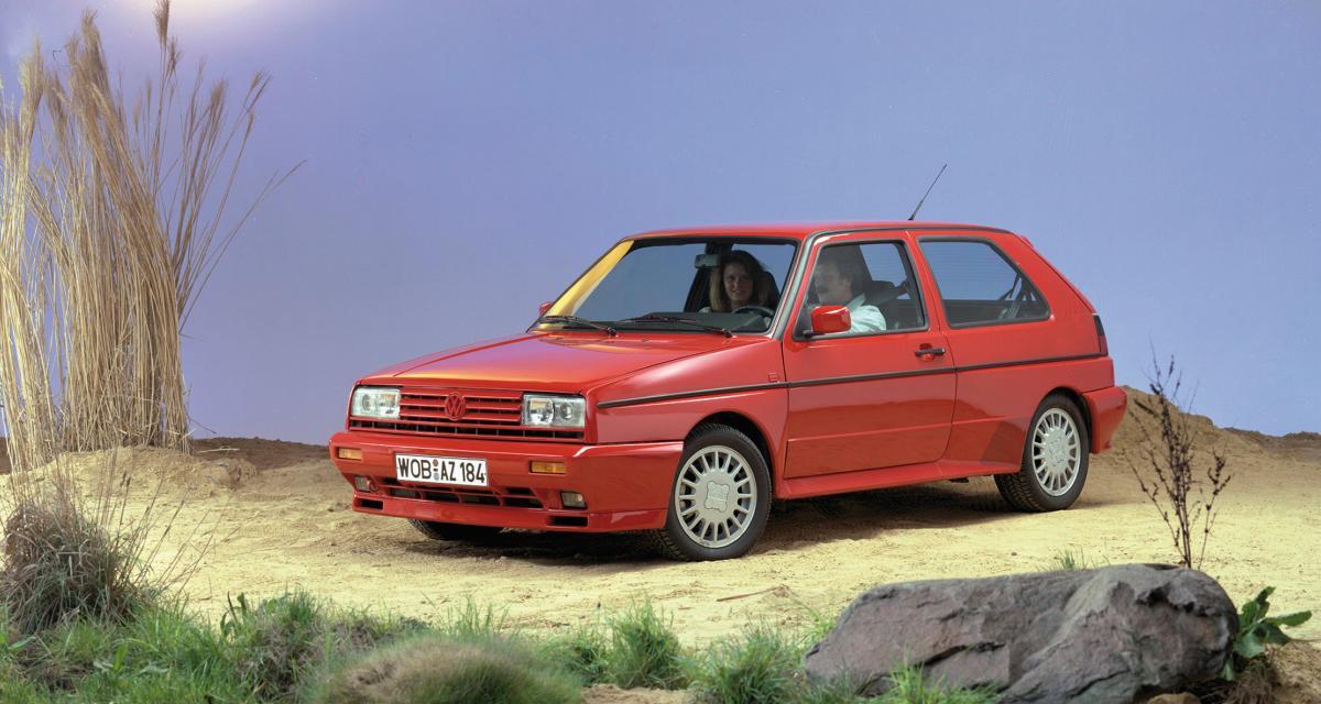 Golf 8 : retour sur la deuxième génération de la VW Golf (MkII)