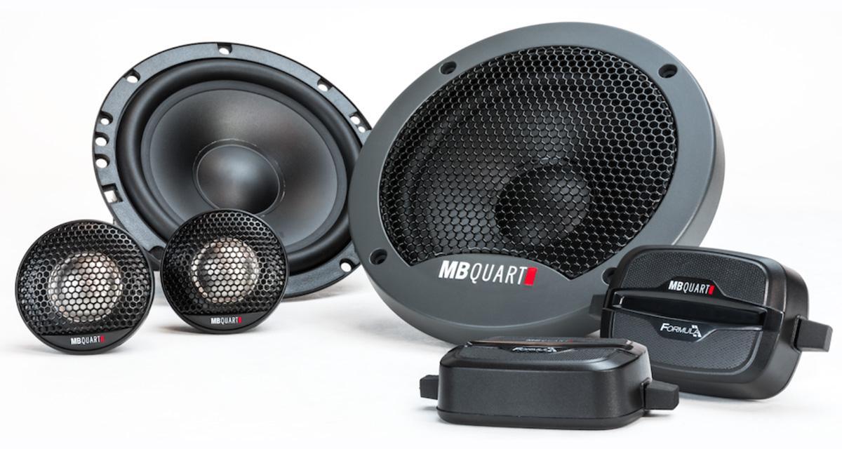 MB Quart USA présente un nouveau kit 2 voies dans sa gamme Formula