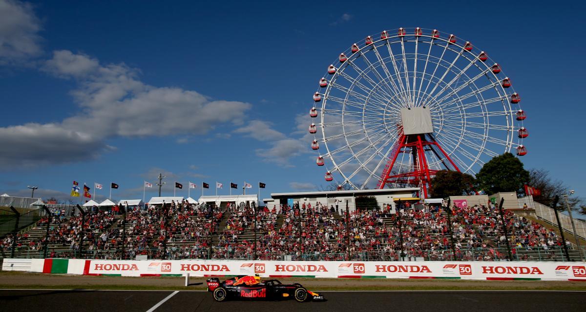 Grand Prix du Japon de F1 : les qualifications reportées à dimanche, la course maintenue