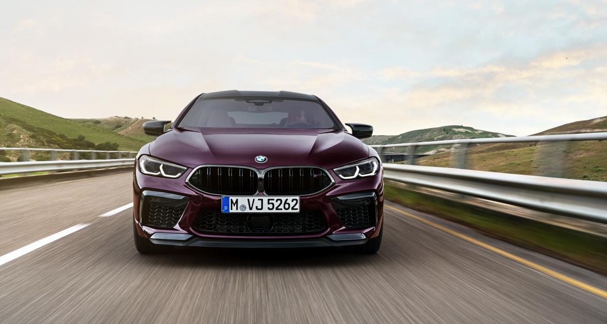 BMW M8 Competition Gran Coupe : la super sportive allemande en 3 points