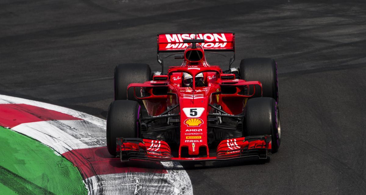 Grand Prix du Mexique de F1 : les résultats de Vettel à Mexico