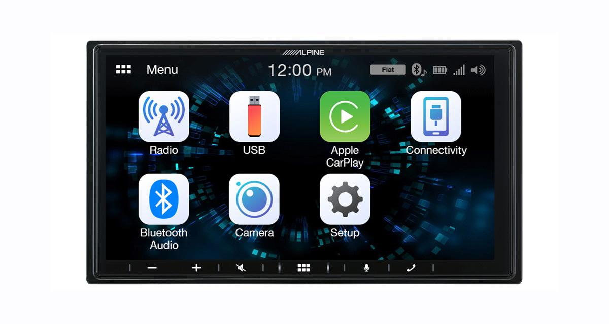 Primé au CES 2019 de Vegas, l'autoradio CarPlay Alpine iLX-W650BT est disponible en France