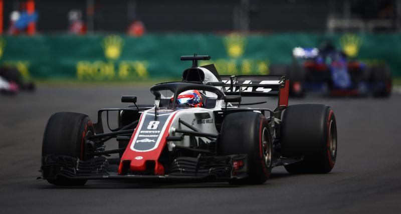 Grand Prix du Mexique de F1 : les résultats de Romain Grosjean à Mexico