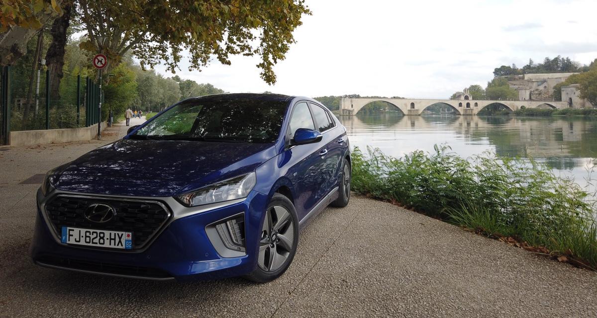 Essai de la Hyundai Ioniq Hybrid restylée : nos photos à Avignon