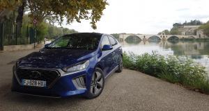 Essai du Hyundai Ioniq Hybrid restylée : nos photos à Châteauneuf-du-Pape
