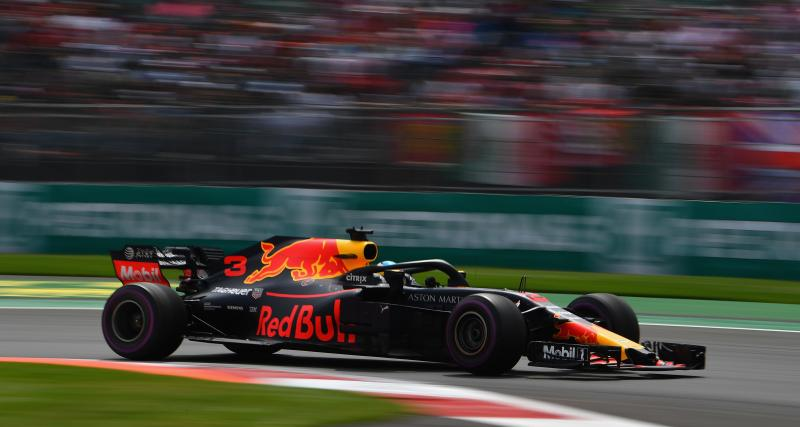Les résultats de Verstappen au Mexique