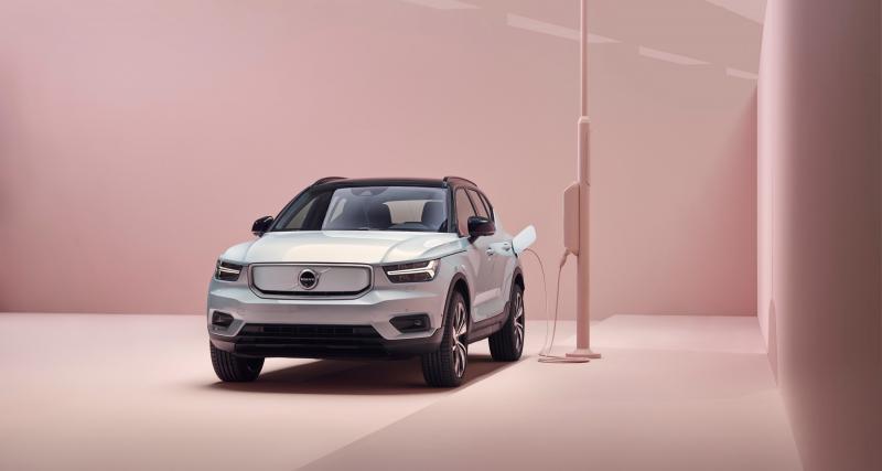 Nouveau Volvo XC40 Recharge : premier véhicule 100% électrique de la marque