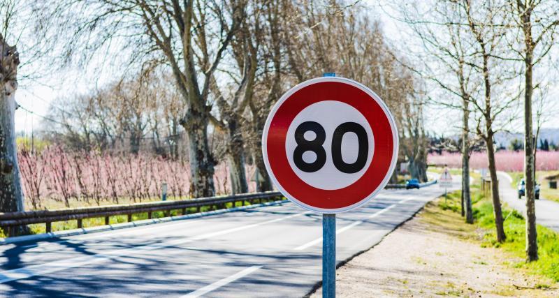 Grand excès de vitesse à 168 km/h sur une route limitée à 80