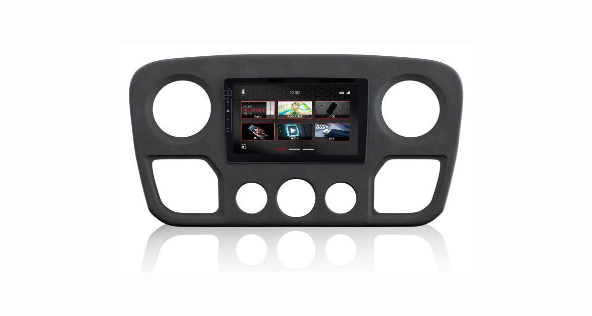 "Un autoradio GPS ""plug and play"" pour le Renault Master chez Dynavin"