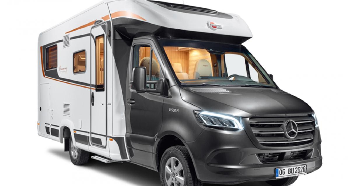 Camping-car Bürstner Lyseo M 690 G Harmony Line : puits de lumière