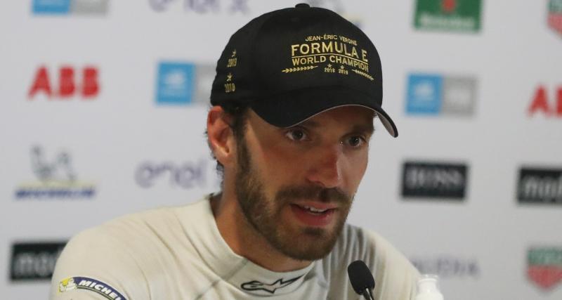 Formule E - Jean-Eric Vergne : Une horde sauvage à ses trousses