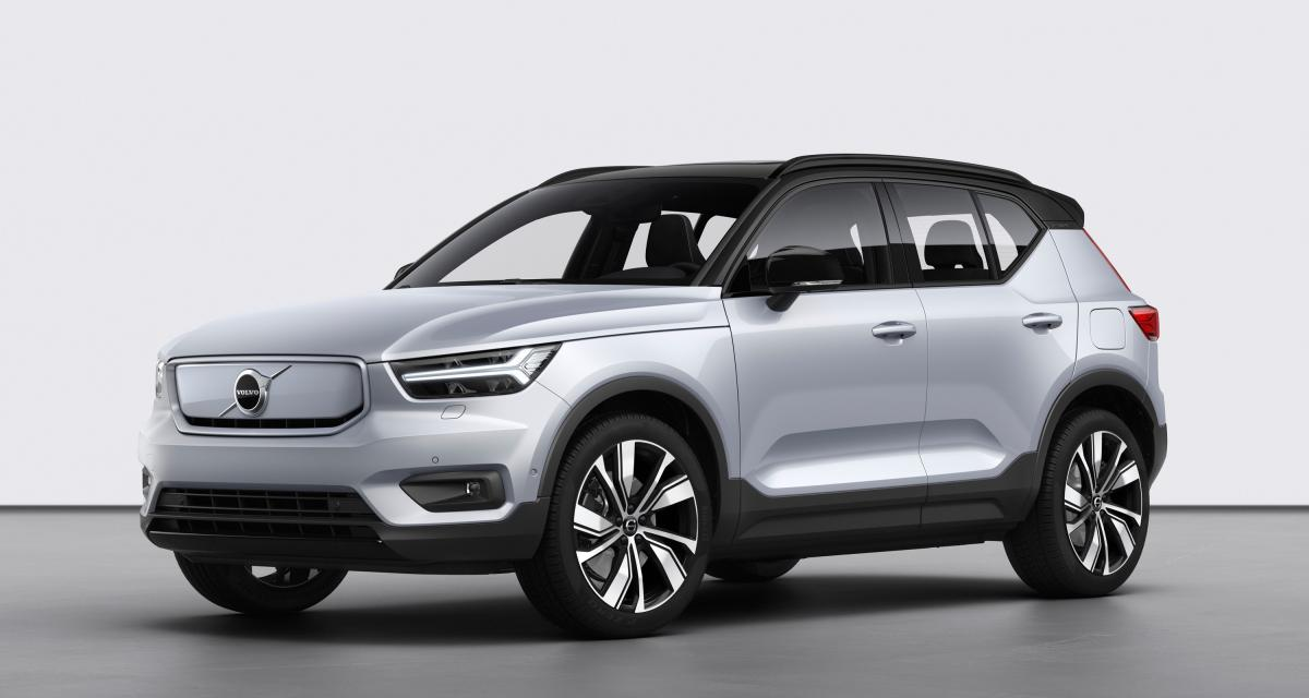 Volvo XC40 Recharge : le SUV compact en 4 points