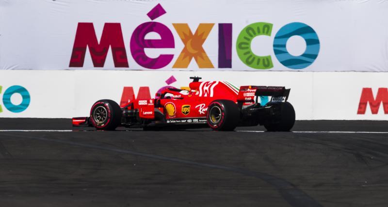 Le Grand Prix du Mexique de F1 à la télévision