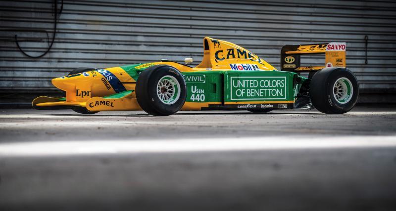 F1 : la Benetton 1992 de Michael Schumacher aux enchères à Abu Dhabi fin novembre
