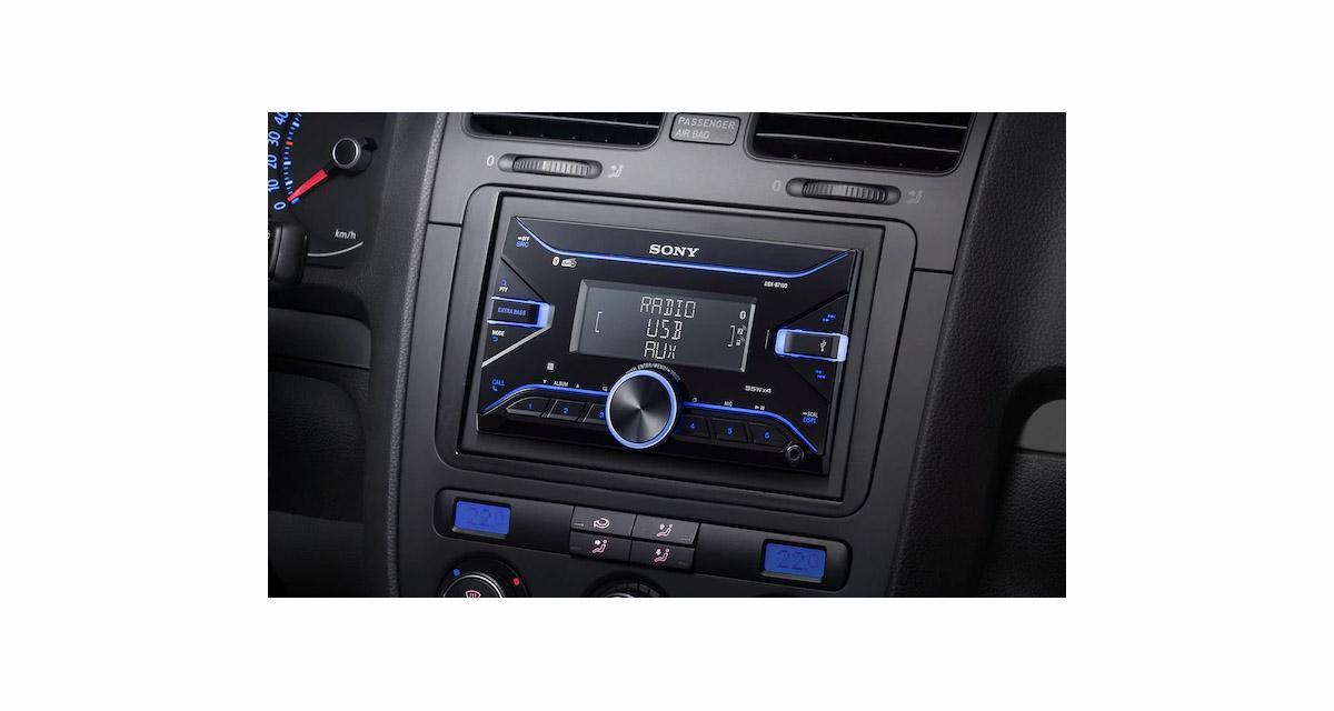 Sony dévoile un nouvel autoradio numérique 2 DIN avec DAB