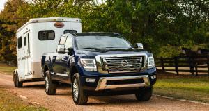 Nissan Titan XD : le gros pick-up nippon en vidéo