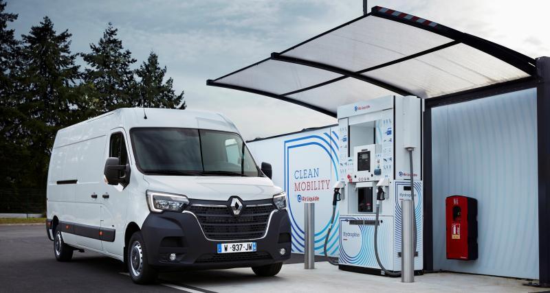 Renault Master ZE : l'utilitaire professionnel passe à l'hydrogène