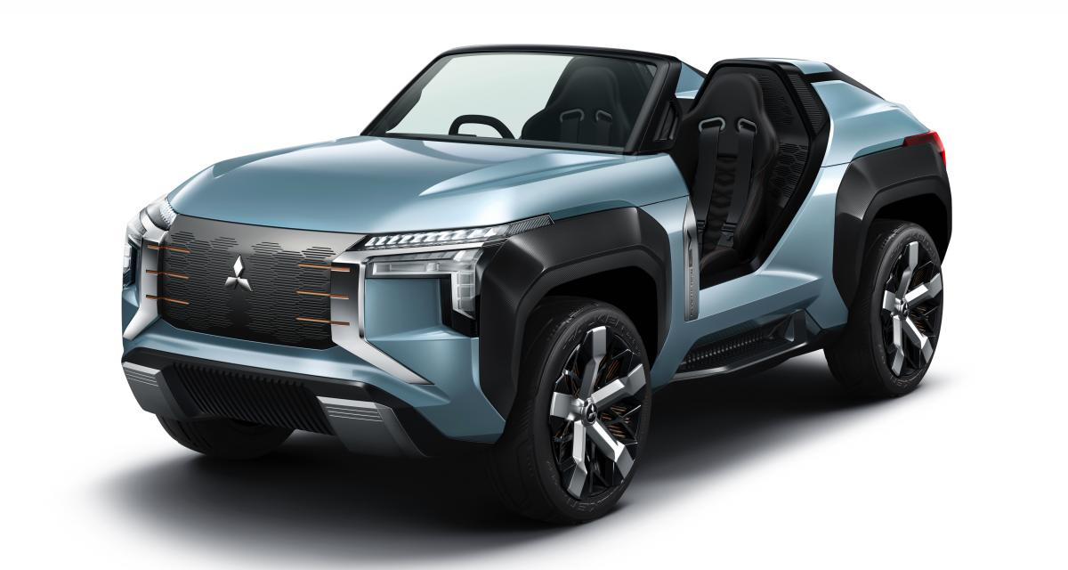 Mitsubishi Mi-Tech : un concept-car fun au Salon de Tokyo 2019