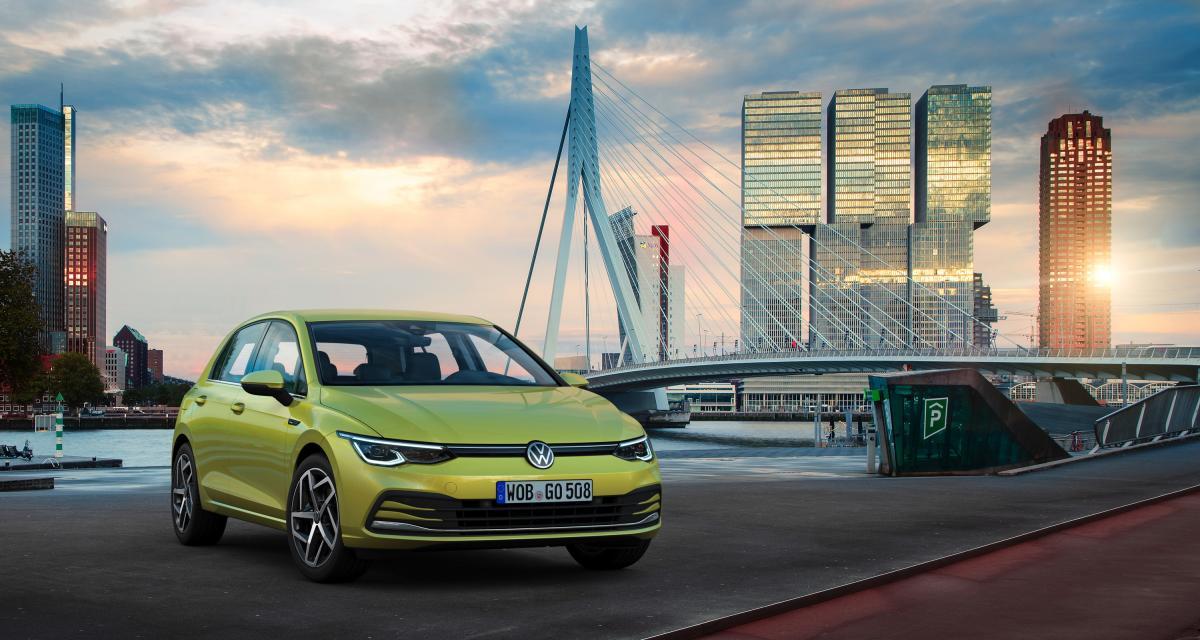 Golf 8 : toutes les photos de la nouvelle compacte star Volkswagen