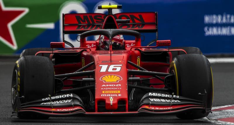 Grand Prix du Mexique de F1 : Leclerc domine les essais libres 3