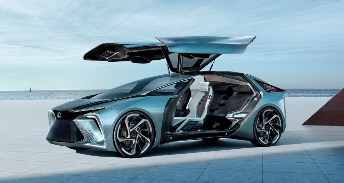Lexus LF-30 Electrified : le concept-car japonais en 4 points